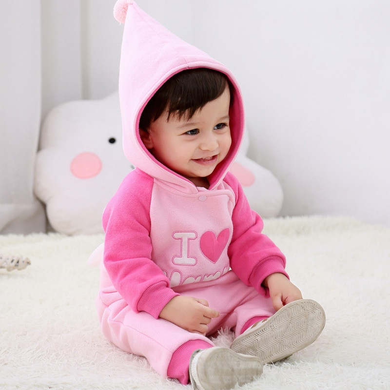 Yg Brand Children's Clothes, 0-2 Years Old Sweater, 2021 New Cotton Baby One-piece Clothes, Hat Clim