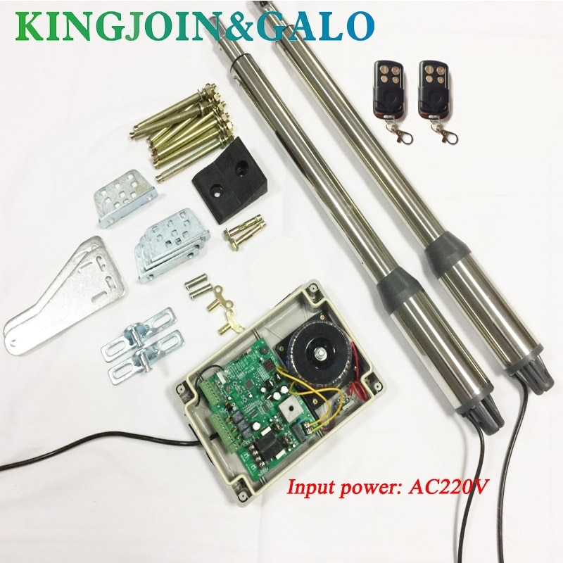 Electric gates / Electric Swing Gate Opener 300 KG  Swing Gate Motor With 2 Remote Control OEM electric gates electric swing gate opener 400 kg swing gate motor with 2 remote control wit 1 pair of photocells 1 alarm light