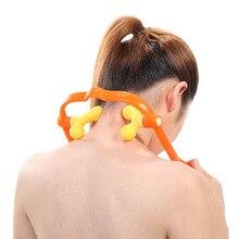 Massager del collo per il Collo e la Spalla A Duplice Punto di Innesco di Auto-Strumento di Massaggio Simula di Massaggio Massaggio Profondo Del Tessuto Terapeuta Le Mani