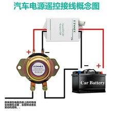 Control remoto coche camión batería interruptor maestro 12V 24V Auto Bus Yacht batería aislador corte desconexión relé + guantes