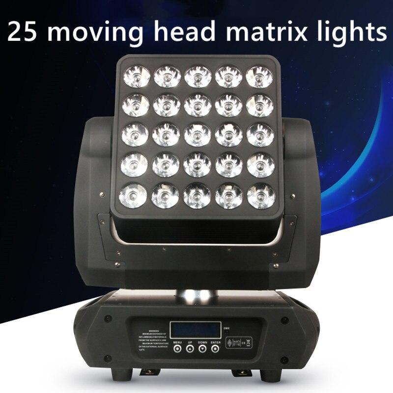 25x15w مصباح أمامي متحرك LED ، ألوان كاملة ، وعد ، إضاءة مسرح نادي كرة ديسكو ، إضاءة مسرح ، شحن مجاني
