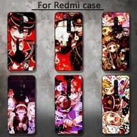 anime toiletbound hanako kun phone case for redmi 5 5plus 6 pro 6a s2 4x go 7a 8a 7 8 9 k20 case