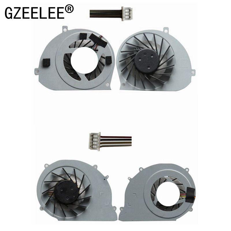 GZEELE новый вентилятор охлаждения процессора для Toshiba Satellite T130 T131 T132 T133 кулер AD7005HX-QBB 4 провода для acer Ferrari One 200 кулер
