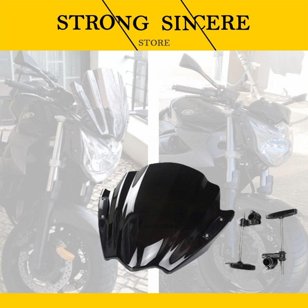 Parabrisas de moto de calle para Ducati Diavel Carbon AMG Strada Streetfighter 848 Hypermotard 1100 EVO SP