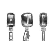Micro Elvis légendaire de qualité supérieure 55SH !! Micro à Microfone denregistrement dynamique portable karaoké Vocal de Style classique 55 SH