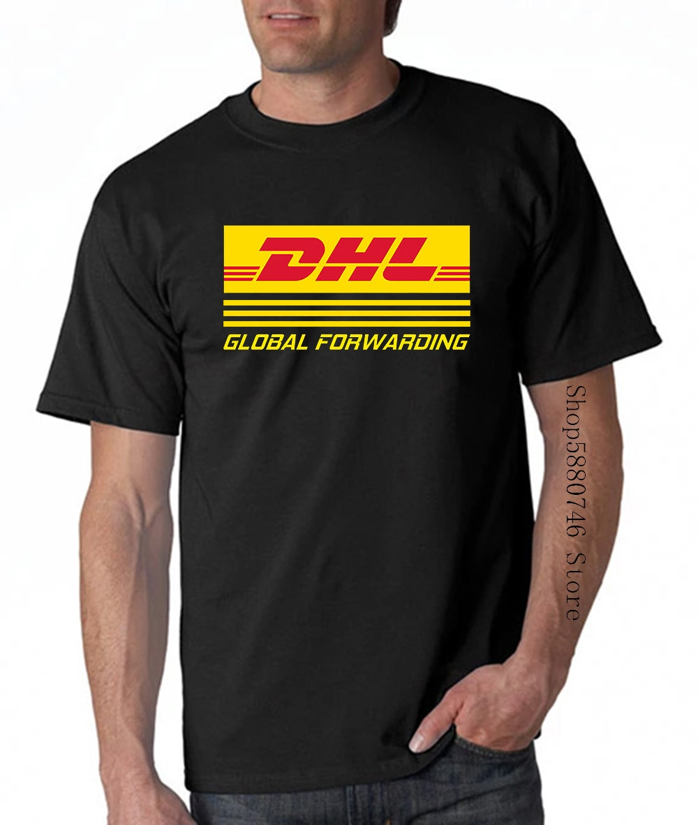 Dhl Global Forwarding Tee T-Shirt Dos Homens