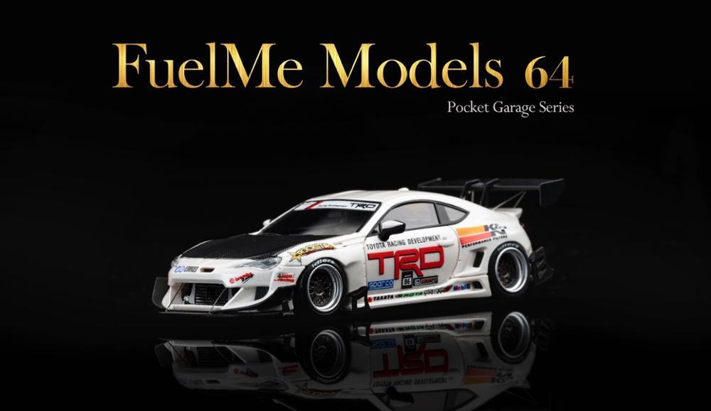 Fuelme 1:64 Rocket Bunny Pandem V3.5 86 RockStar Style TRO resin model car
