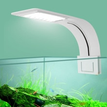 Seven Master Super Slim LED Aquarium Light Lighting plants Grow Light 5W/10W/15W Aquatic Plant Lighting Waterproof Clip-on Lamp