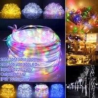 ip67 waterproof led string lights outdoor garland festoon fairy lights wedding decoration holiday lighting christmas tree lights