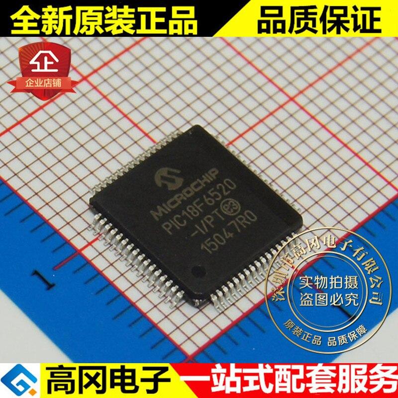 5 piezas PIC18F6520-I/PT TQFP64 MICROCHIP 2kB RAM 32kB
