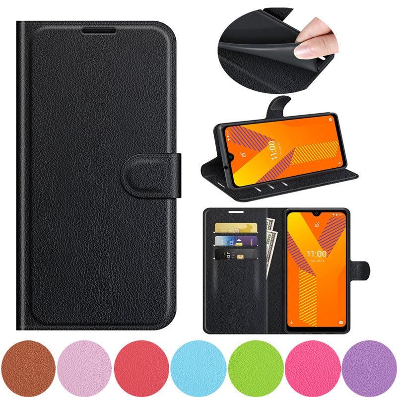 Funda de cuero para Motorola One 5G Ace, carcasa con soporte para...