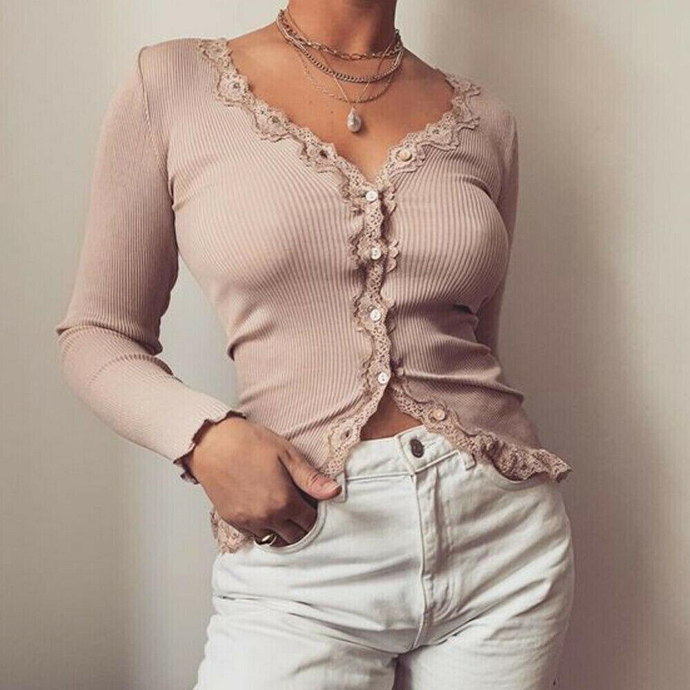 New Autumn 2019 female knit cardigan sweater coat short female a little shawl knitted jacket female