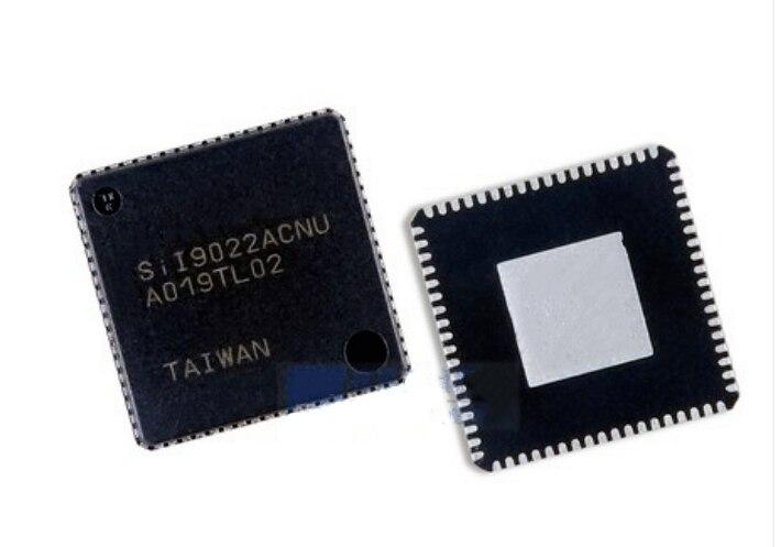 5-10 pces novo sii9022acnu sil9022acnu qfn72 hdmi chip de transmissão