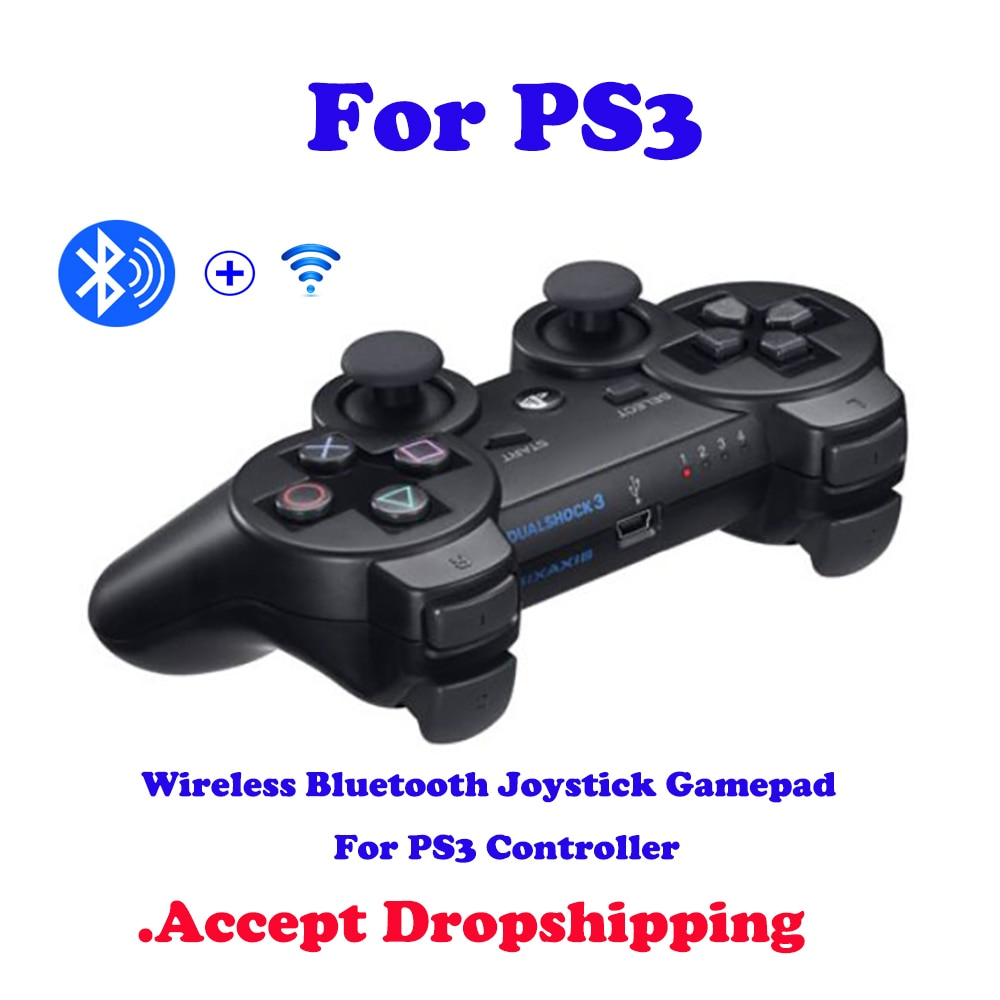 For Playstation 3 Game Supply Support Wireless Bluetooth Joystick Gamepad For PS3 Controller Game Console Remote Controller