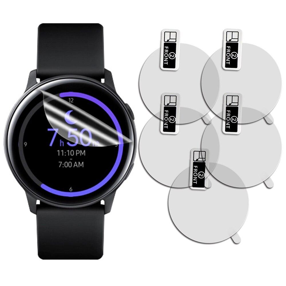 5 шт. для samsung Galaxy Watch Active SM-R500 Смарт-часы Взрывозащищенный протектор экрана высокой четкости анти-ударная пленка