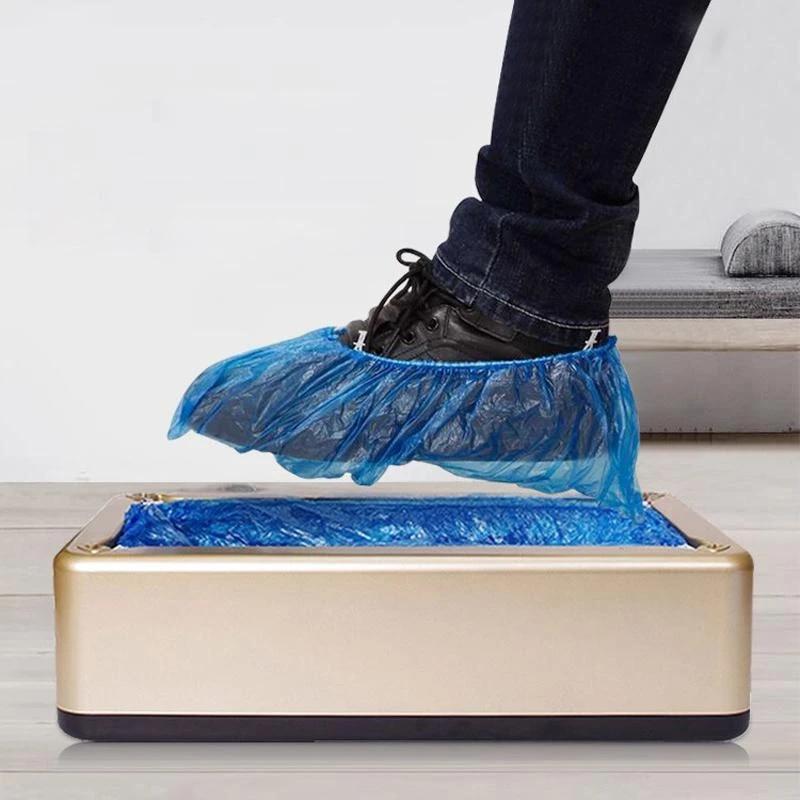 Máquina dispensadora automática de cubiertas de zapatos, máquina de tapas de zapatos automática, máquina de película de una sola vez para el hogar y la Oficina, conjunto de zapatos nuevos