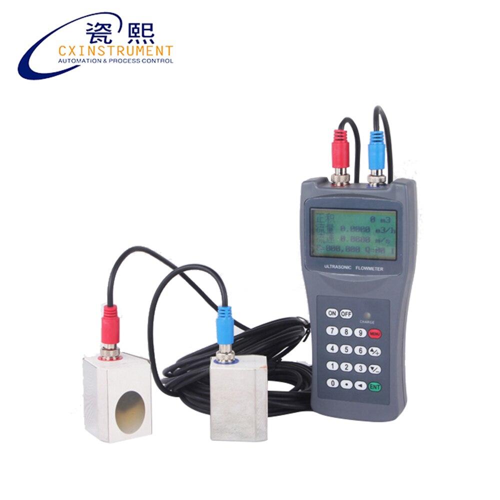 Sensor de Fluxo e Liga de Alumínio Medidor de Fluxo Precisão Repetibilidade Dndn100 Pequeno ou Abs Material Líquido Ultrassônico 1% 0.2% Dn15