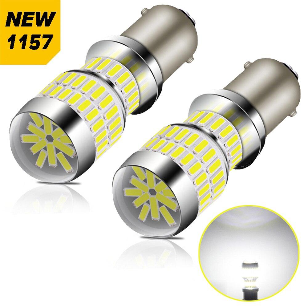 2X Canbus BA15S P21W 1156 7506 1157 3157 T25 7443 W21/5W ampoule LED voiture de secours inverse pour Toyota Hyundai Kia Lexus Mazda Nissan