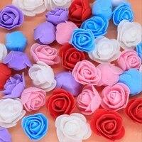 Fanlys     Mini accessoires de decoration de mariage en PE  fausses fleurs artificielles  scrapbooking  pour la maison  decorations de noel  Diy  bon marche