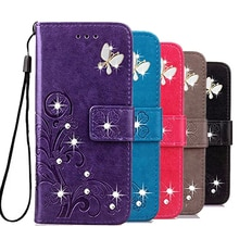 Luxury Case For Xiaomi Mi A2 Lite Cover Case Magnet Closure Flip Stand Wallet Leather Phone Bag On X