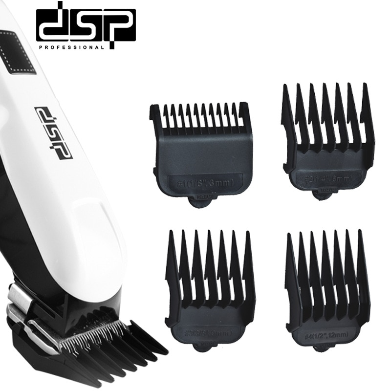 Multifunctional Universal Rechargeable LCD Hair Salon Household Electric Barber Electric Scissors enlarge