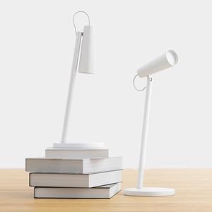 Xiaomi Mijia USB Rechargeable LED Desk Lamp Reading Desk Lamp Study Room Desk Lamp Portable 120° Rotating Bedside Lamp