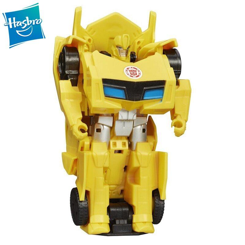 Hasbro Transformers Robots Juguetes De Lujo clase película Bumblebee decépticon Stinger Autobot Ratchet coche de juguete