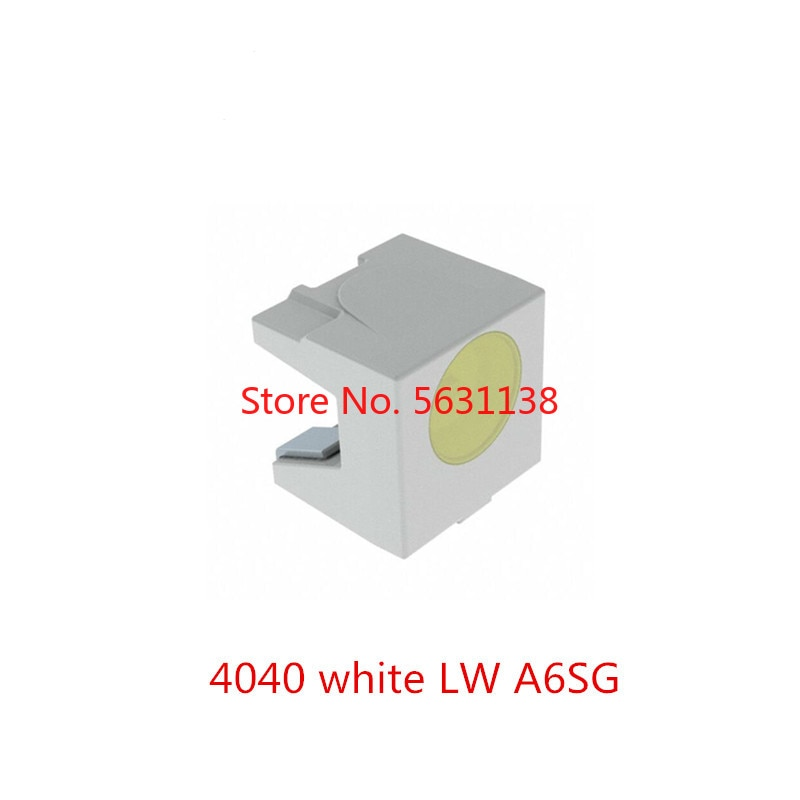 10 Uds LW A6SG 4040 chip LED blanco emisor lateral LW A6SG-V2BA-JKPL 3,2 V diodo emisor de SMD-2 potencia led cree led cuentas de luz LED