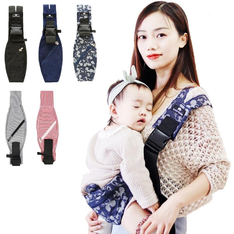 Новый шарф-слинг для новорожденных, мягкий хлопковый шарф-слинг для малышей, подтяжки для новорожденных, шарф-слинг для новорожденных