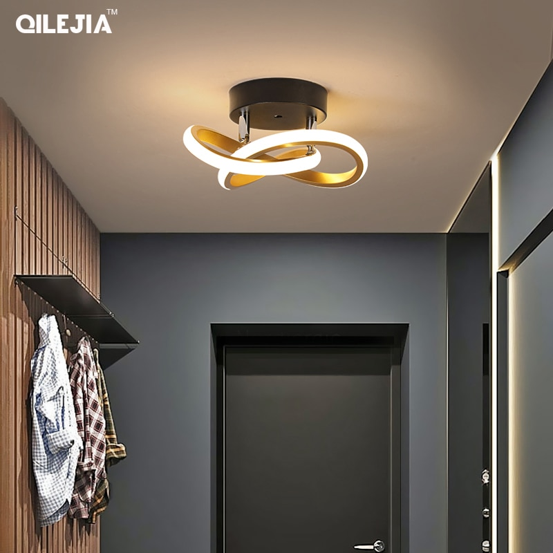 LED ضوء السقف ضوء المدخل الحديثة جو بسيط الممر الدرج ضوء الشمال الإبداعية شخصية شرفة مصباح