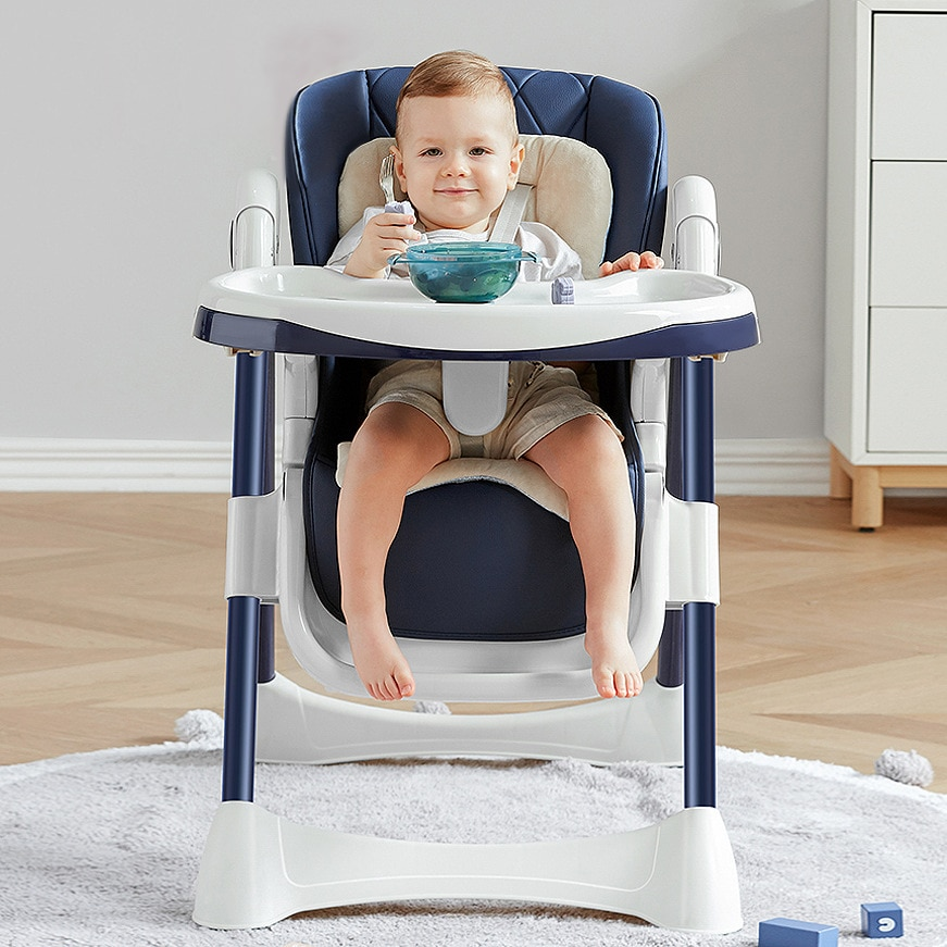 Portable Baby Seat Baby Reclining Dinner Table Multifunction Adjustable Folding Chairs Children Dining Table Baby Sleeping Chair