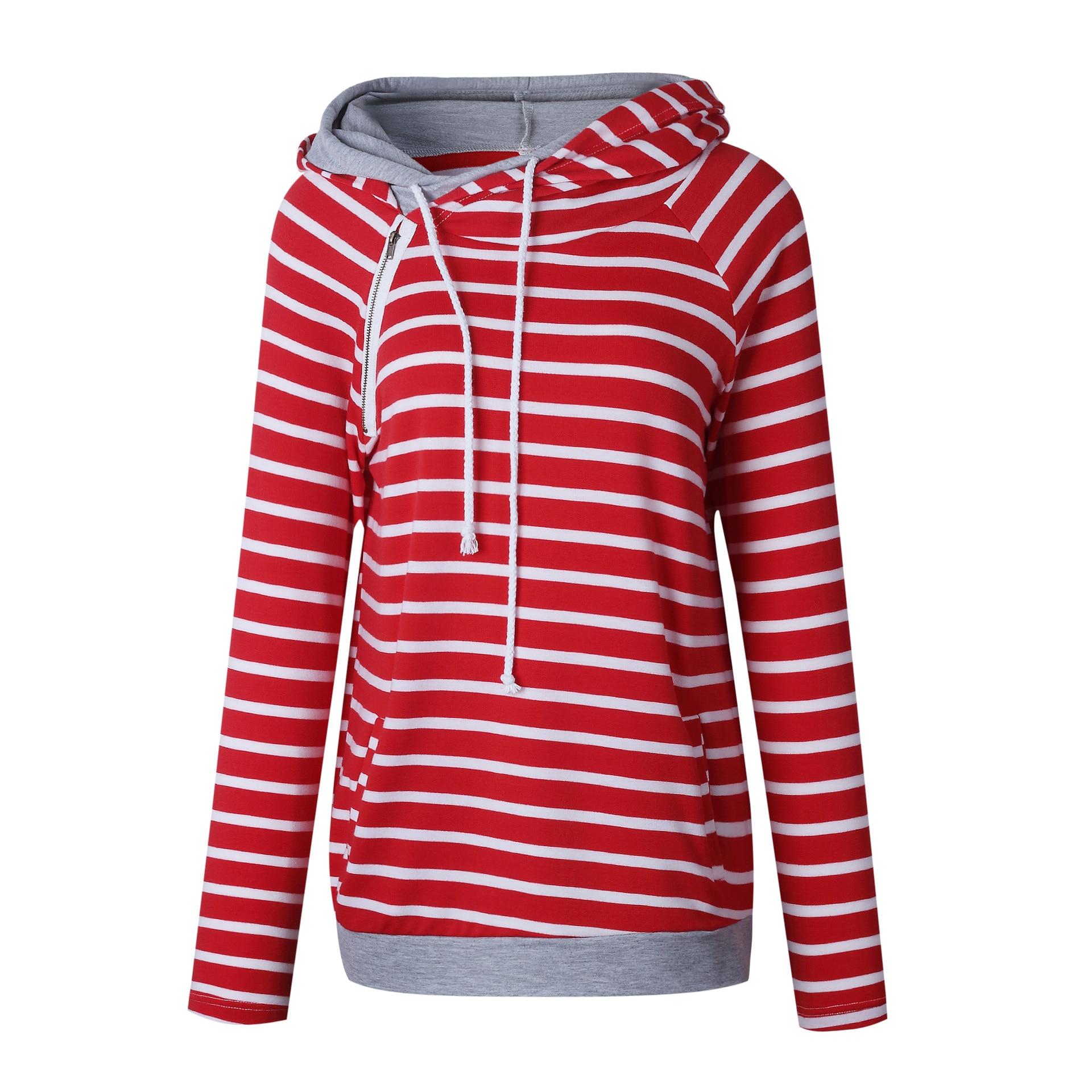 Straße kleid Herbst Mädchen Pullover Hoodeds Hut Streetwears Striped Frauen Mode Sexy Trainingsanzug Hoodies Kpop Trendsetter MOOWNUC