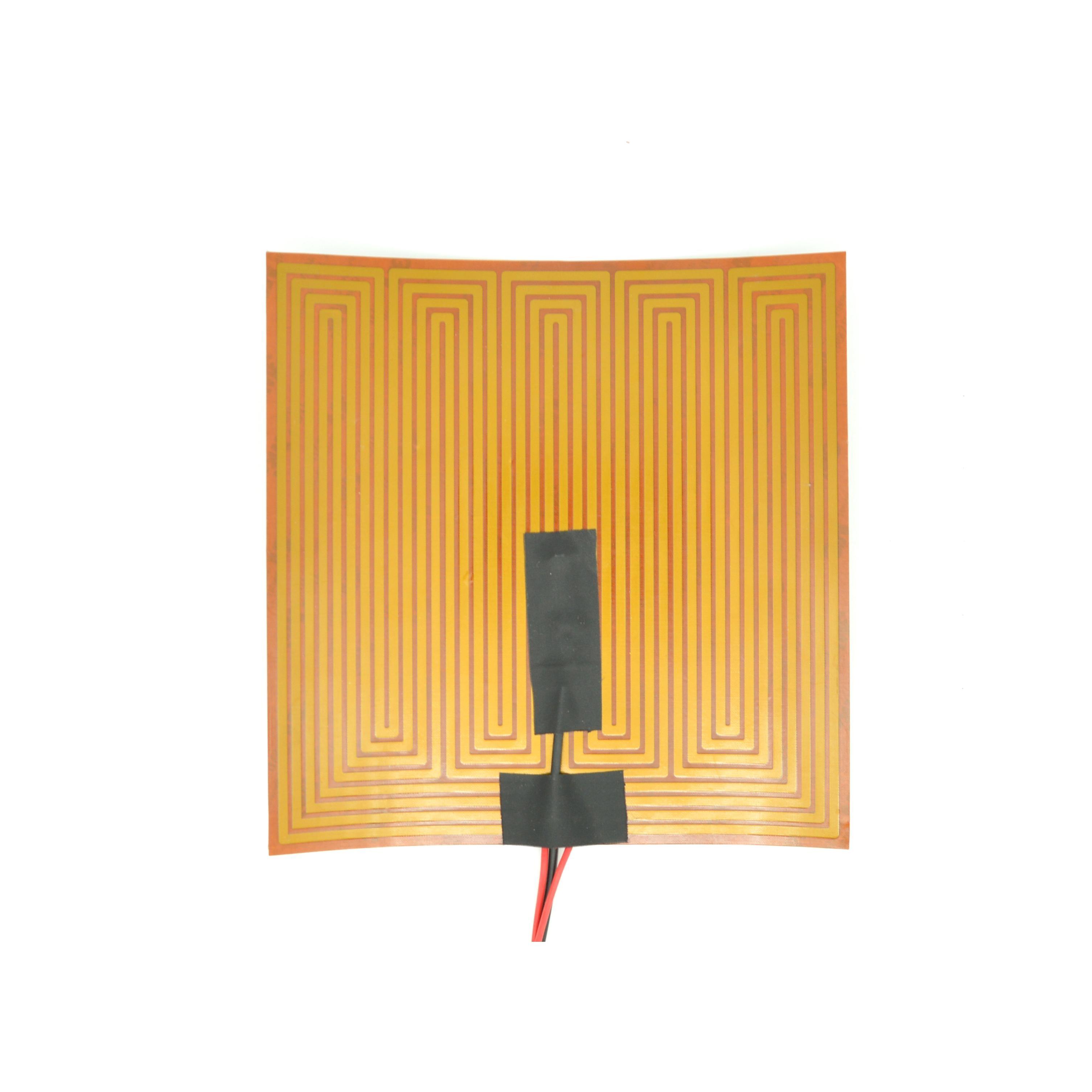 24V 100W 200*200mm Kapton película 3D impresora Heatbed calentador Flexible