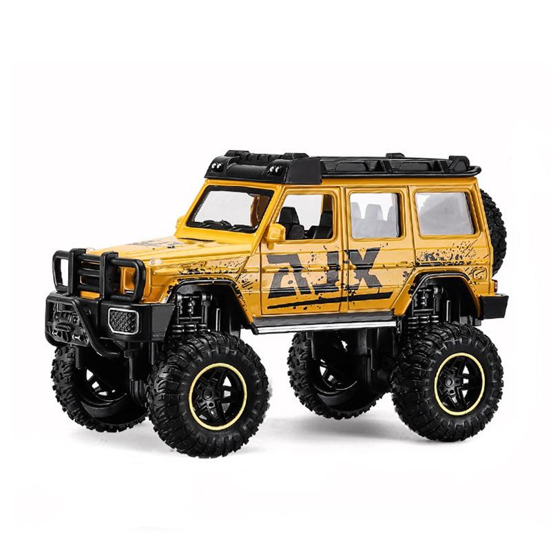 Benz barbo-Vehículos de aleación fundidos a presión para niños, juguetes de modelo...