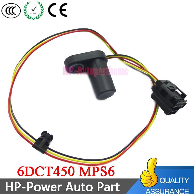 1850527 6DCT450 MPS6 caja de cambios automática Sensor de velocidad 7M5R-7H103-BA
