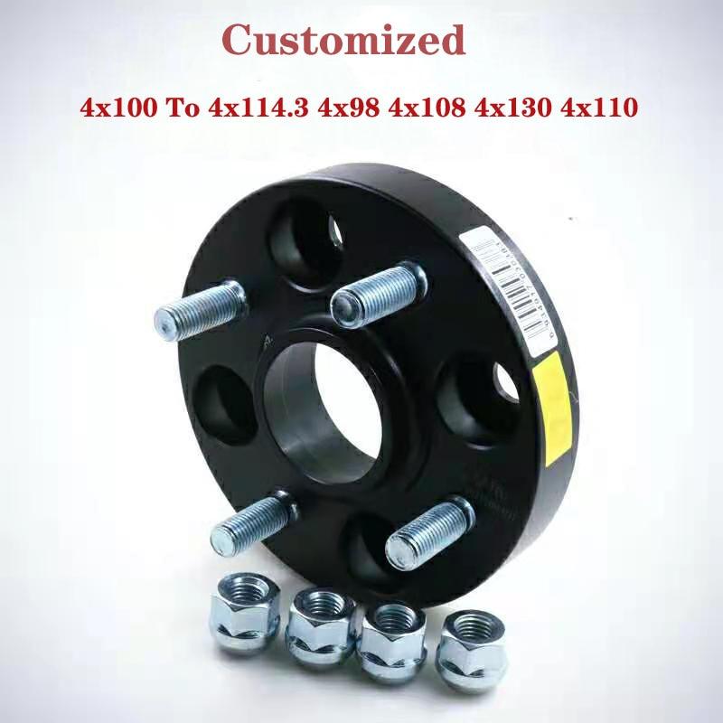 Espaciadores de rueda de conversión personalizados, Kit de adaptador espaciador de rueda...