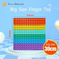 new504030 cm super push foam toys softschoolbag board decompression toys for adults and children autism relief compression toy