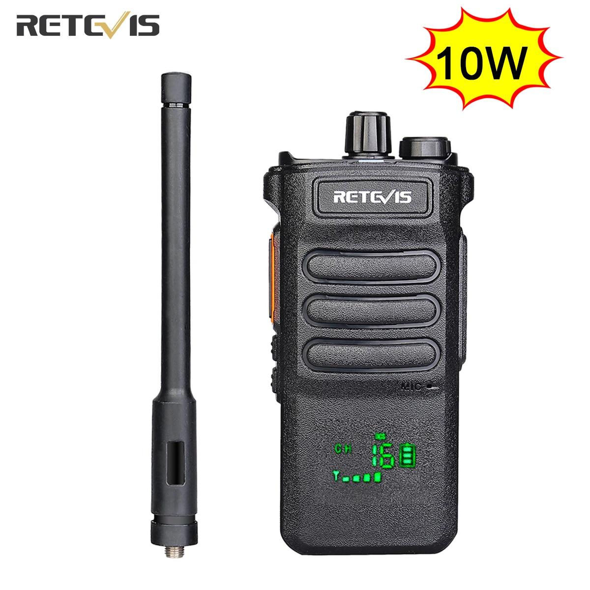 aliexpress.com - 10W Retevis Walkie Talkie Long Range RT86 Walkie-talkies 1 2 pcs Portable Radio For Hunting Powerful walkie-talkie Two-way radio