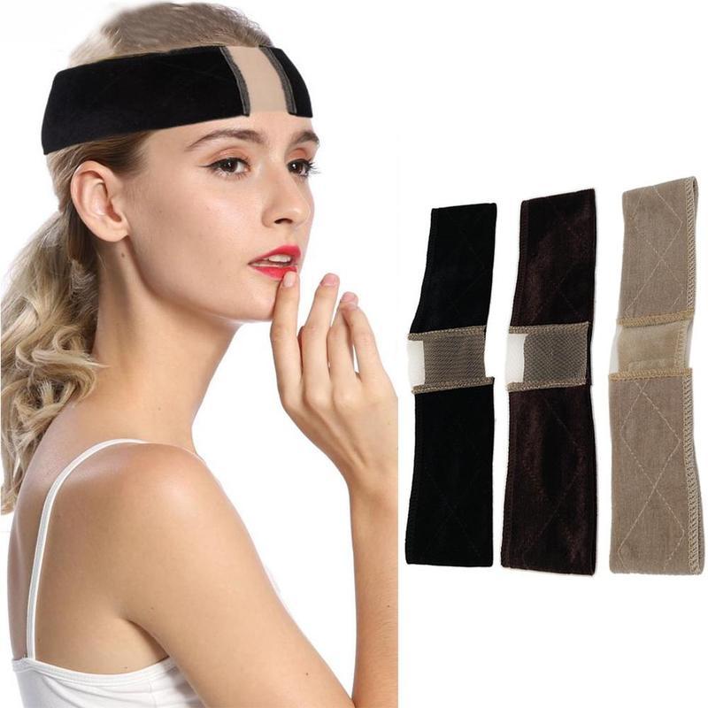 Multi-purpose Non-slip Wig Headband Street Shot Hair Band Velvet Hair Band Wig Lace Headband Fixed Anti-slip Hair Accessories