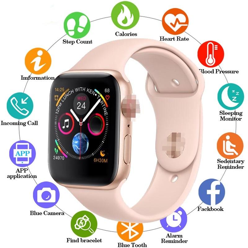 Smart Watch 44MM PK IWO 8 PLUS Bluetooth Smartwatch Series 4 siri For XM wei sa m u ng ios Apple iphone 5 6 7 8 X XS MAX XR