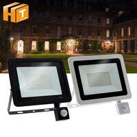 LED FloodLight PIR Motion Sensor LED Flood Light IP66 Waterproof Outdoor Lighting.