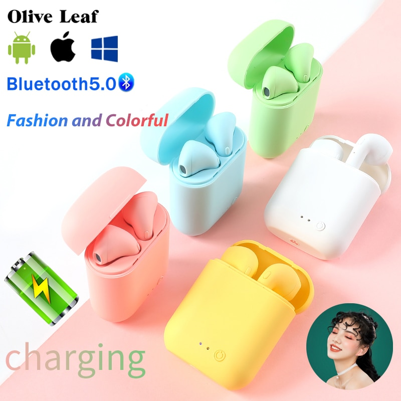 Mini-2 TWS Wireless Earphones Bluetooth 5.0 Sports Headset Gaming Earbuds For Iphone Samsung Huawei