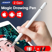 Bolígrafo Universal para teléfono inteligente, Stylus para Android, IOS, Lenovo, Xiaomi, Samsung, tableta, bolígrafo de dibujo con pantalla táctil para Stylus, iPad, iPhone