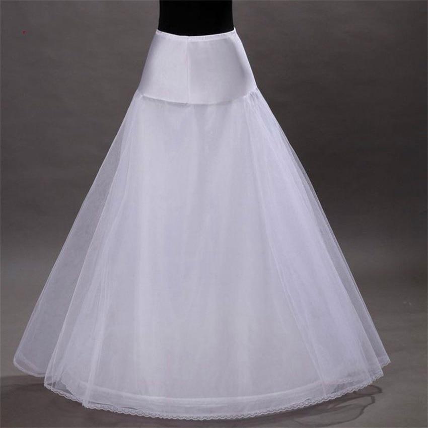 NUOXIFANG Bridal Slips Wedding Underskirt White Underdress Falda Brautpetticoat Long Crinoline Sottoveste A Line Petticoat Layer