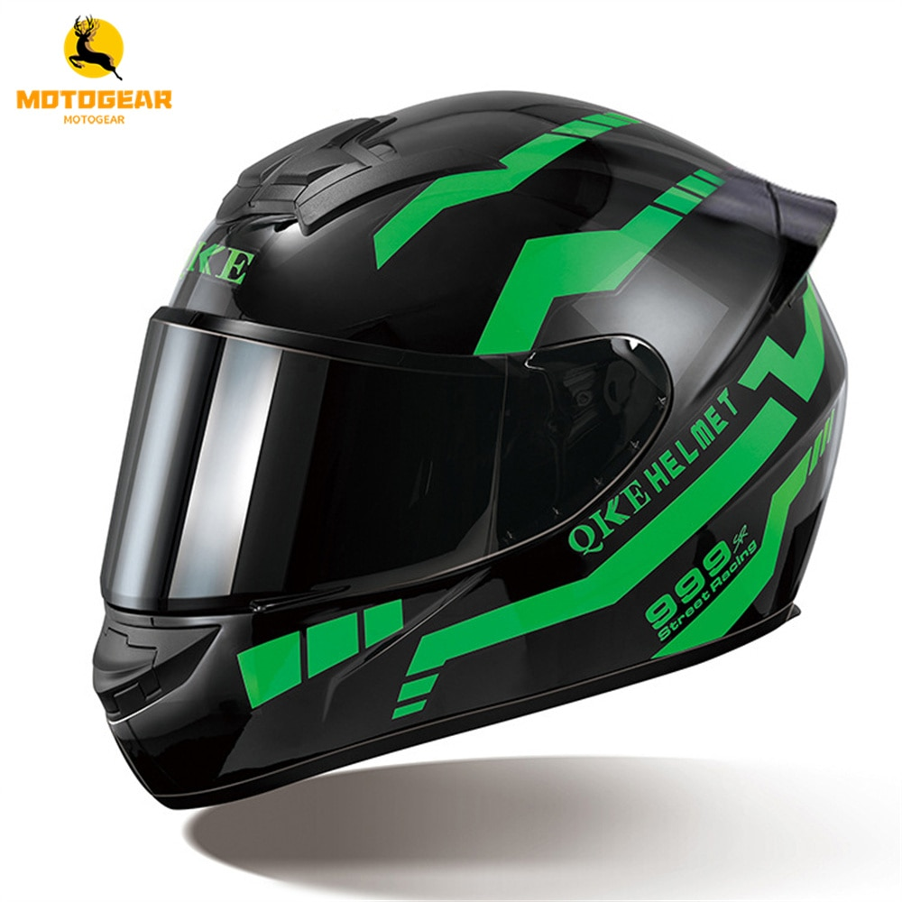 Мотоциклетный шлем с сертификацией DOT, гоночный шлем для мотокросса, мотоциклетный шлем на все лицо