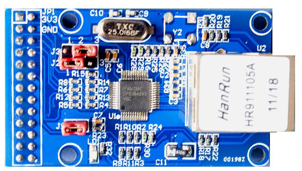 وحدة إيثرنت DP83848 PHY Network IoT, مع STM32 روبل MII RMII