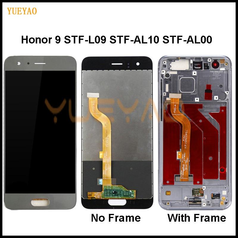 Pantalla LCD para Huawei Honor 9 STF-L09 STF-AL10 STF-AL00 pantalla LCD de montaje de digitalizador con pantalla táctil Honor 9 pantalla LCD