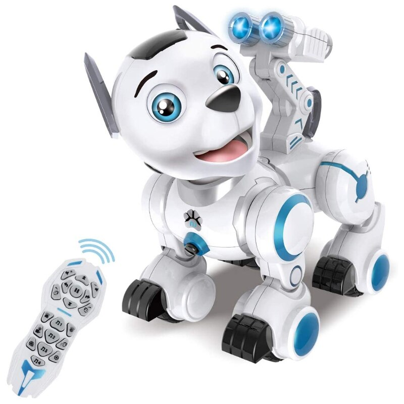C5AA Remote Control Robotic Dog RC Interactive Electronic Intelligent Robot Puppy Toy
