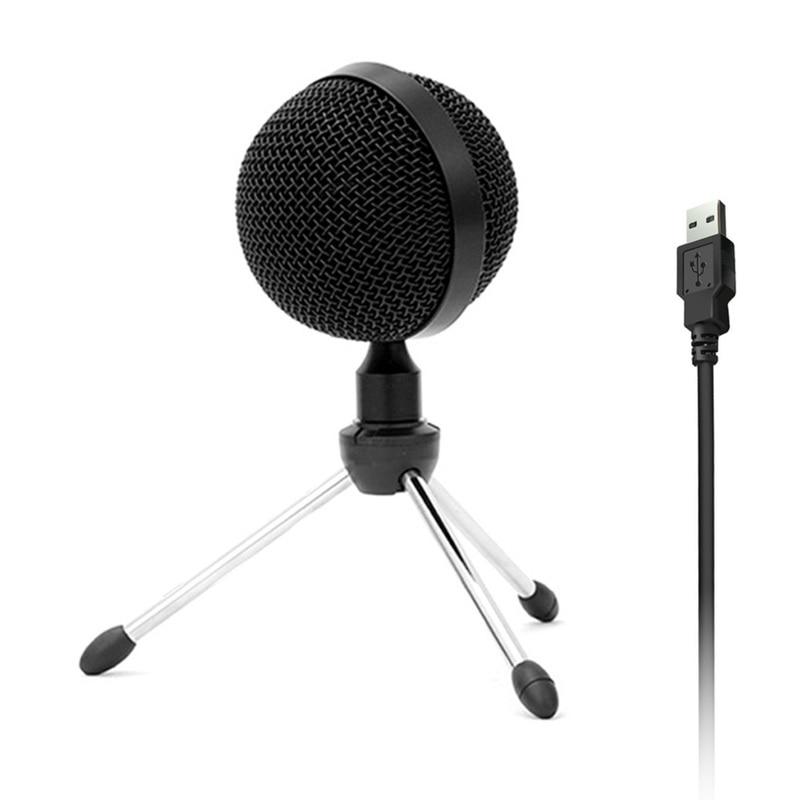 USB конденсаторный микрофон, подключи и играй, компьютерные микрофоны 360 градусов, всенаправленный микрофон для игры в конференции для Windows Mac