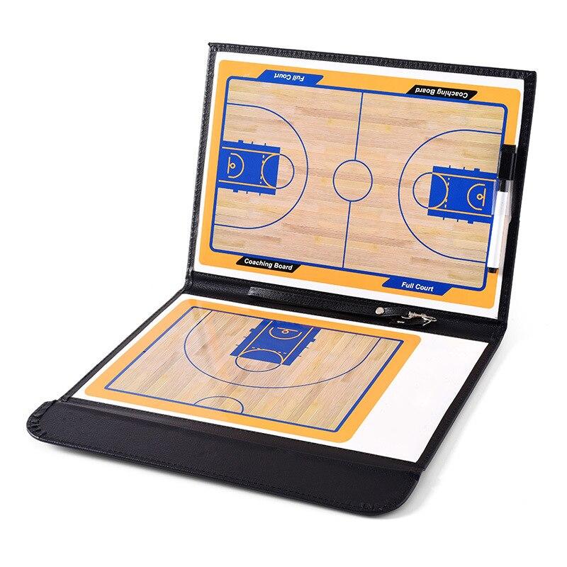 Прямая тактическая баскетбольная тренерская доска, магнитная тактическая доска для баскетбола, портативная тренировочная магнитная доска...